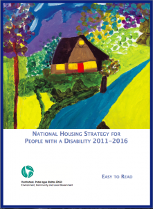 Cover of National Housing Strategy for People with Disability
