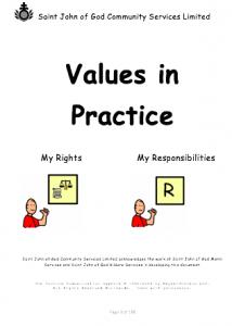 ValuesInPractice